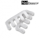 Separators for Pedicure White Disposable - 10 pairs