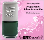 TC- Stamping Lack 12 ml Dark green (14)