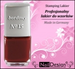 TC- Stamping Lack 12 ml Dark red (15)