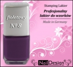 TC- Stamping Lakier 12 ml fiolet (08)