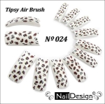 Air Brush Tips 24 10pc. Scatola