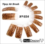 Air Brush Tips 34 10pc. Scatola