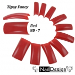 Color Tips - red ND-7100 pcs in plastic box