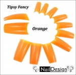 Fancy tips Orange 10 psc.
