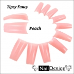 Fancy Tips Pink 500 pcs.