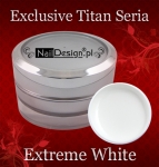 Gel Exclusive Titan Serie Extreme White 15 ml
