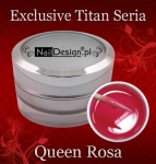 Gel Exclusive Titan Serie Queen Rosa 15 ml
