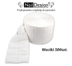Made in Germany - Nailwippes 500 psc in roll  Profi Studio Line (pad, pads)