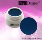 Żel kolorowy 5ml dark turkus NEW