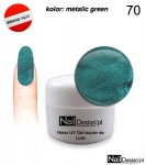 Relax UV Gel Polish Lackier Soak Off 5ml - metalic green ( 70 )