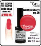 GEL Polish 15ml - soak off - wild strawberry (no. 76)