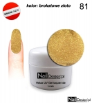 Relax UV Gel Polish Lackier Soak Off 5ml - gold brocade (81)