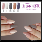 5x hybrid gel polish 8ml CREAMY only 40 PLN